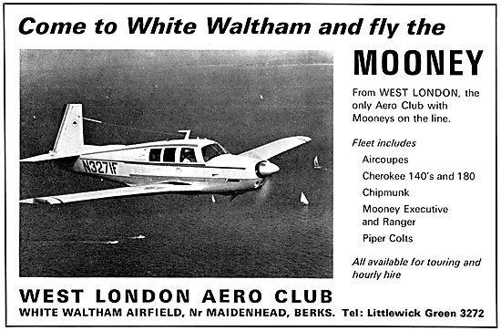 West London Aero Club - White Waltham - Mooney Executive