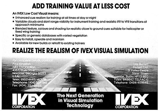 Flytsim IVEX Flight Simulator Visuals