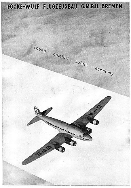 Focke-Wulf Condor - D-AERE