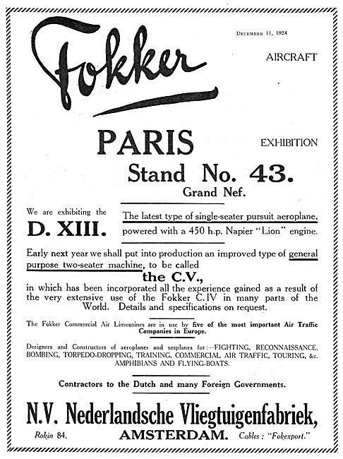Fokker DXIII