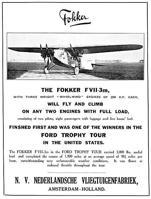 Fokker F.VII-3m