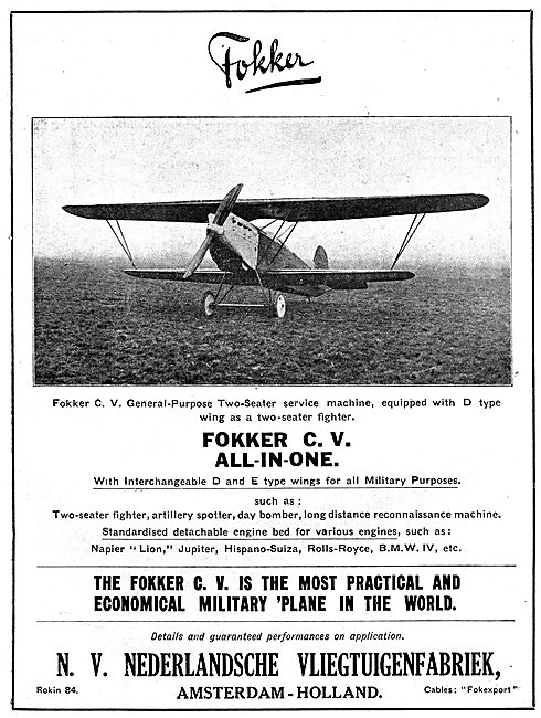 Fokker C.V. All-In-One