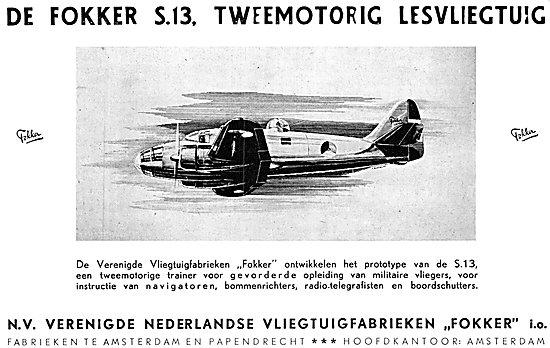 Fokker S.13