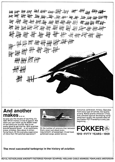 Fokker F27 - Fokker Friendship