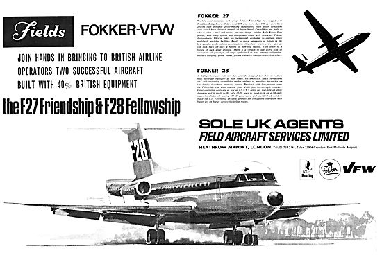 Fokker F27 F28 - Field Aircraft Services