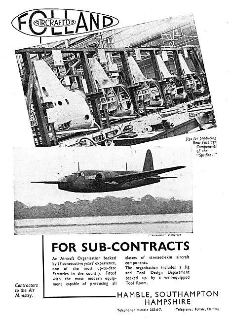 Folland Aircraft - Spitfire 1 Rear Fuselage
