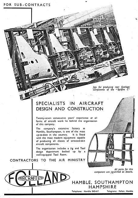Folland Aircraft - Spitfire