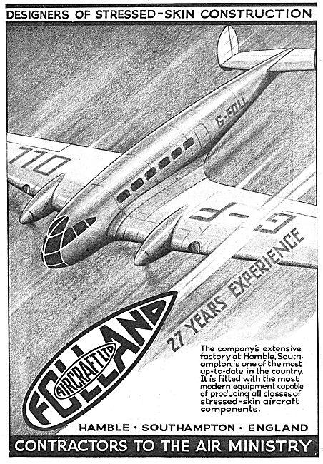 Folland Aircraft - Hamble
