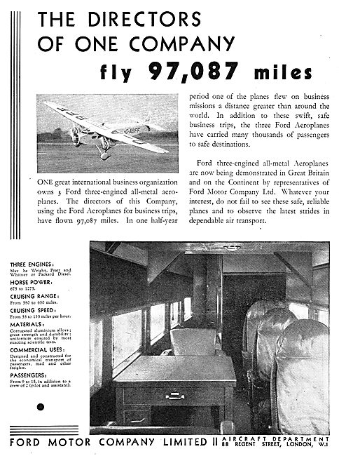 Ford Trimotor Monoplane