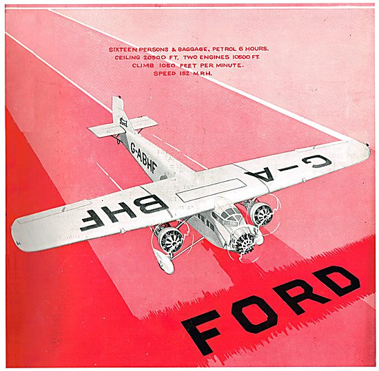 Ford Model 5-AT - Three-Engined Monoplane