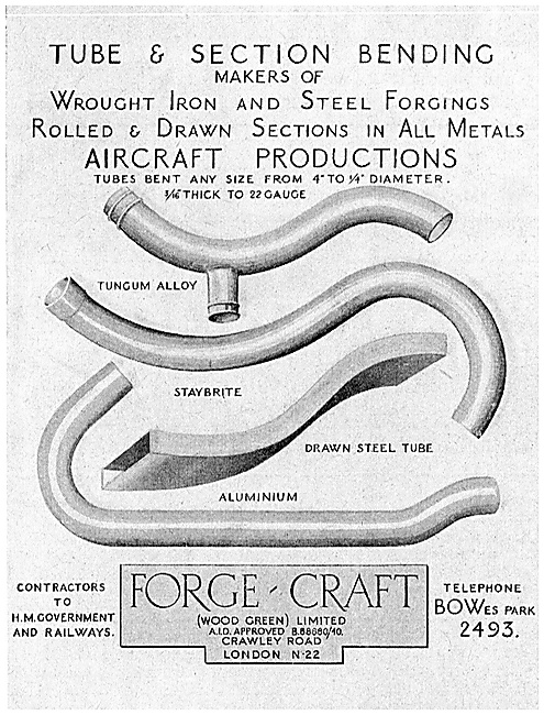 Forge-Craft Tube & Section Bending 1940