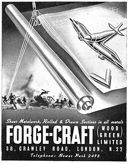 Forge-Craft Tubes, Drawn Sections - Sheet Metalwork & Pressings