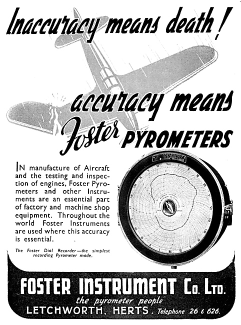 Foster Instruments Pyrometer