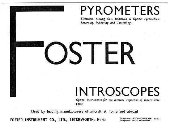 Foster Instrument Co - Letchworth. Introscopes
