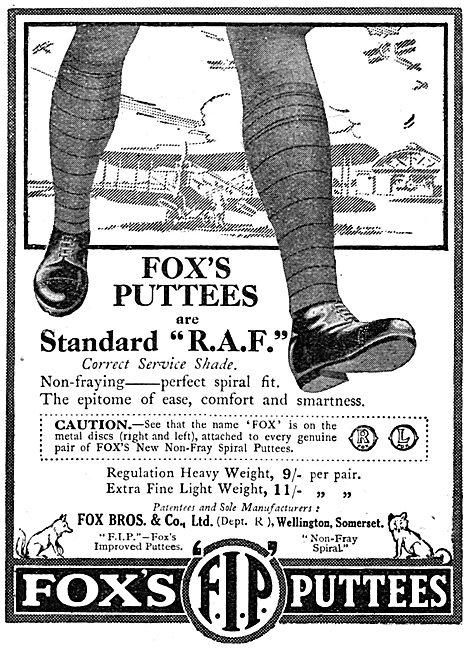 Fox Bros - Fox's Puttees
