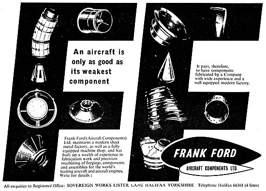 Frank Ford Aircraft Fabrications & Assemblies