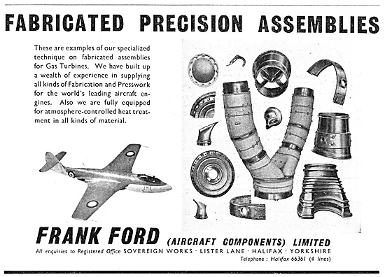 Frank Ford Fabricated Precision Assemblies