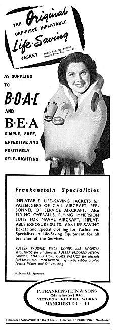 Frankensteint Survival Equipment For Transport Aircraft