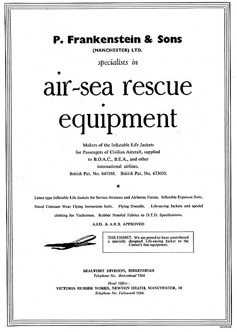 Frankenstein-Beaufort Air Sea Rescue Equipment