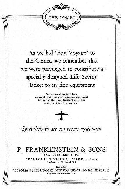 Frankenstein-Beaufort Air Sea Survial Equipment