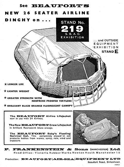 Frankenstein-Beaufort Survival Equipment For Transport Aircraft