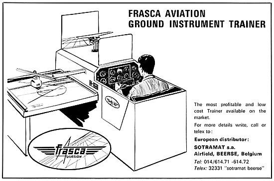 Frasca Aviation Ground Instrument Trainer 1969