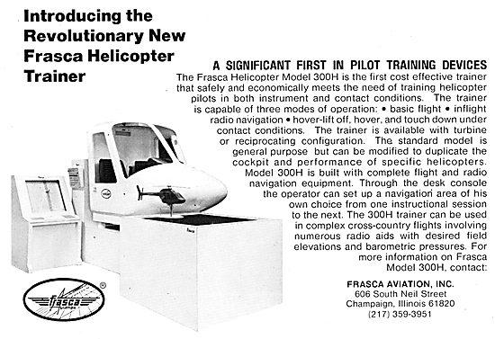 Frasca Flight Simulators - Frasca 300H Helicopter Simulator