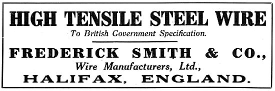 Frederick Smith & Co. Halifax. Steel Wire Manufacturers