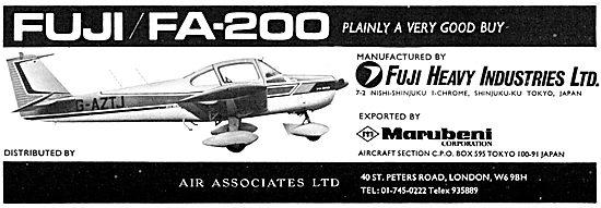 Fuji FA-200  G-AZTJ