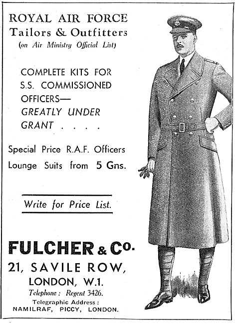 Fulcher - RAF Tailors & Outfitters