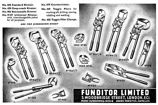 Funditor Riveting Equipment & Hand Tools