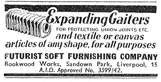 Futurist Soft Furnishing -Expanding Gaiters