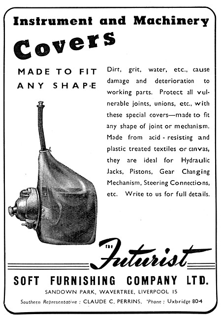 Futurist  Instrument & Machinery Covers