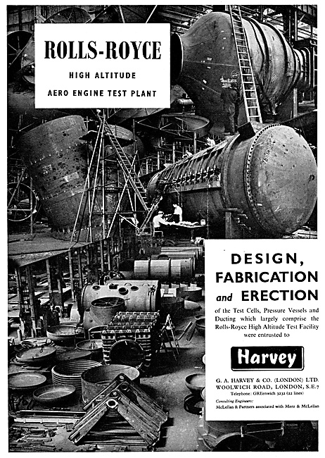 G.A.Harvey Wind Tunnel & Test Plant Design & Fabrication