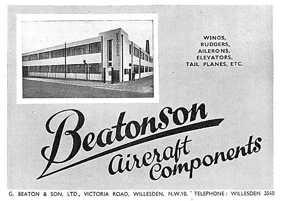 G. Beaton - Beatonson Aircraft Component Manufacturers