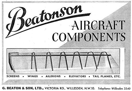 G.Beaton- Beatonson Aircraft Components