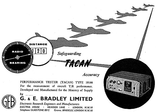 G & E Bradley TACAN Performance Tester Type 10166