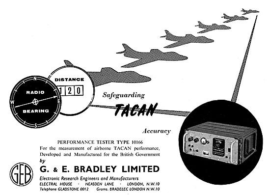 G & E Bradley Aircraft Components Test Equipment