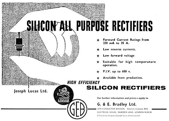 GEB. G.E.B. G & E Bradley Electrical Components