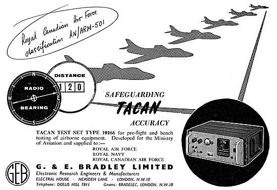 Bradley Tacan Test Set Type 10166