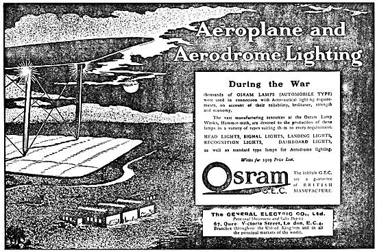 The General Electric Company. Osram  Airfield & Aircraft Lighting
