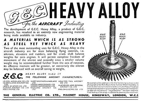 G.E.C. Heavy Alloy