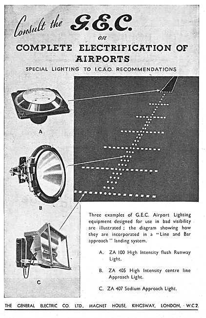 G.E.C. Airfield Lighting Systems