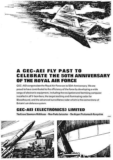 GEC-AEI Electronics Avionics & Airfield Equipment