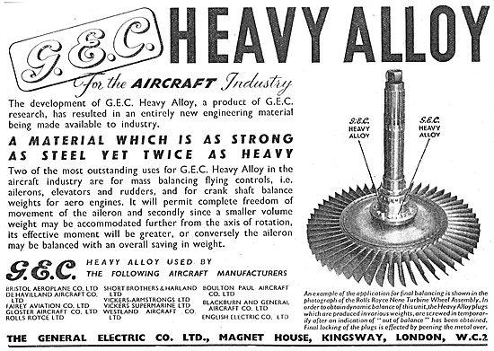 G.E.C. Heavy Alloys