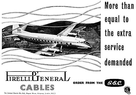 General Electric Company. G.E.C. Pirelli Cables