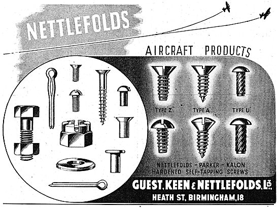 Guest Keen & Nettlefolds G.K.N. AGS Parts