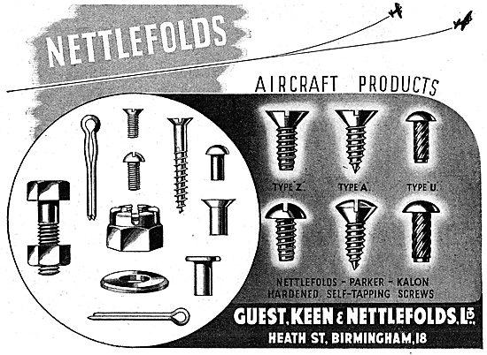 Guest Keen & Nettlefolds GKN Fasteners & AGS Parts