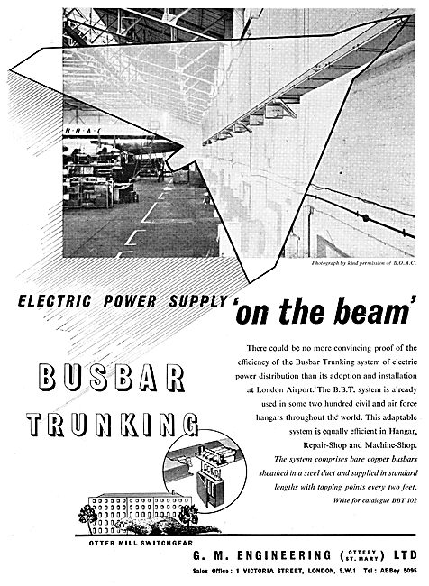 G.M.Engineering - Busbar Trunking Power Distribution System