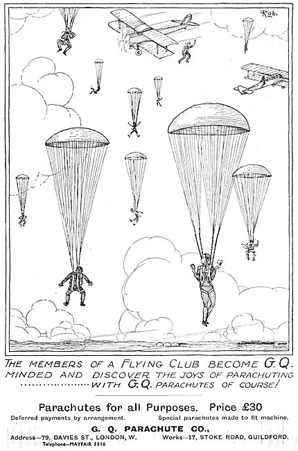 GQ Parachutes 1932